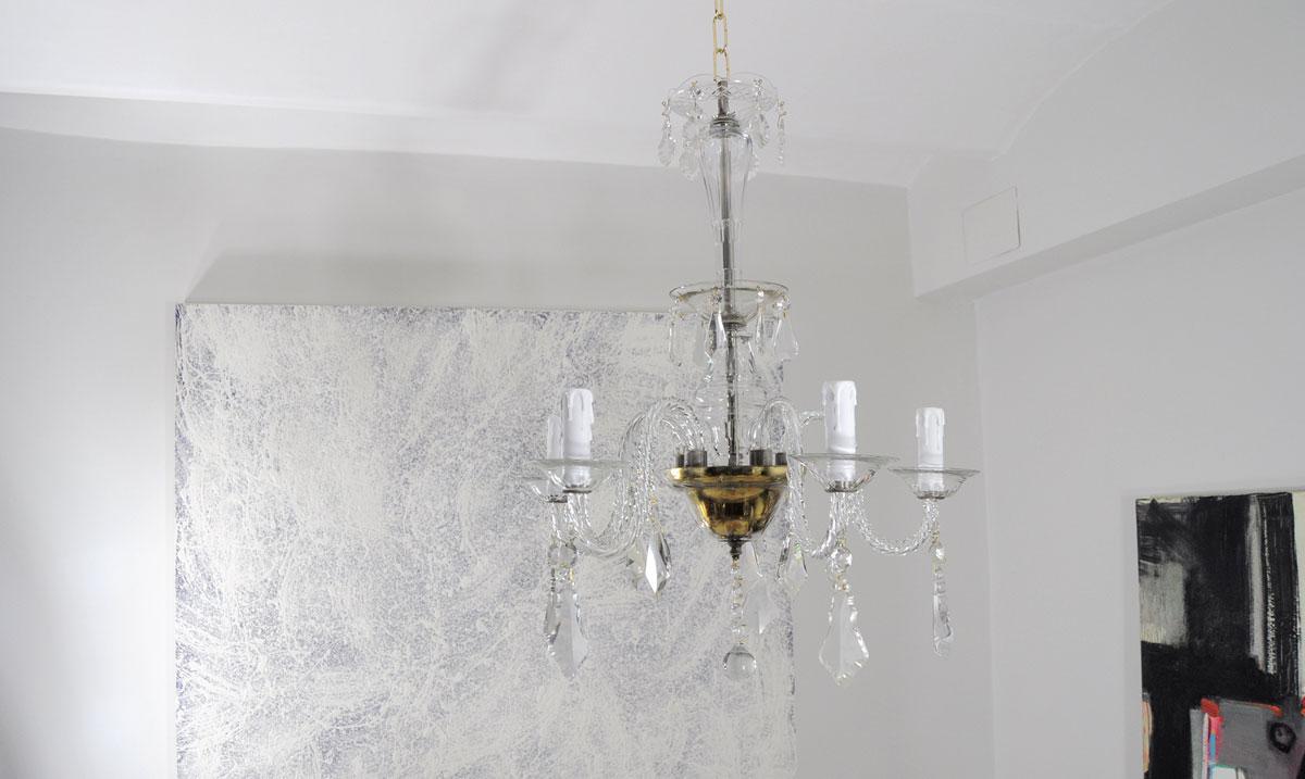 Lampara de techo ara a de cristal antigua restauraci n de lamparas antiguas - Lamparas de cristal antiguas ...