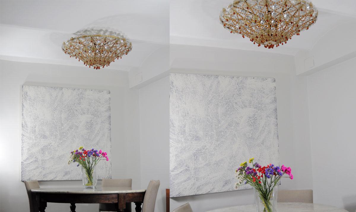 Lampara de techo plafon de cristal de murano - Lamparas antiguas de techo ...