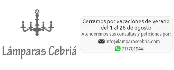 Restauracion de lamparas Antiguas